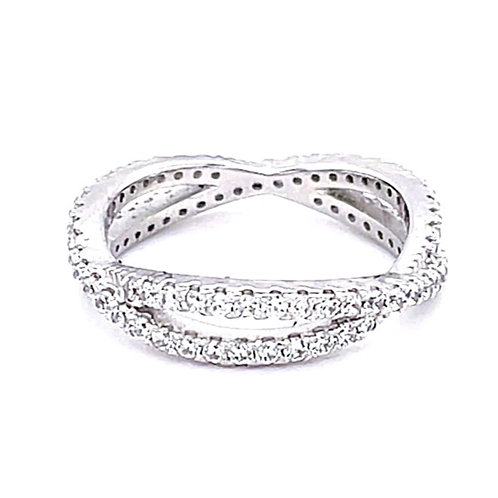 Sterling Silver Cubic Zirconia Ring 130254