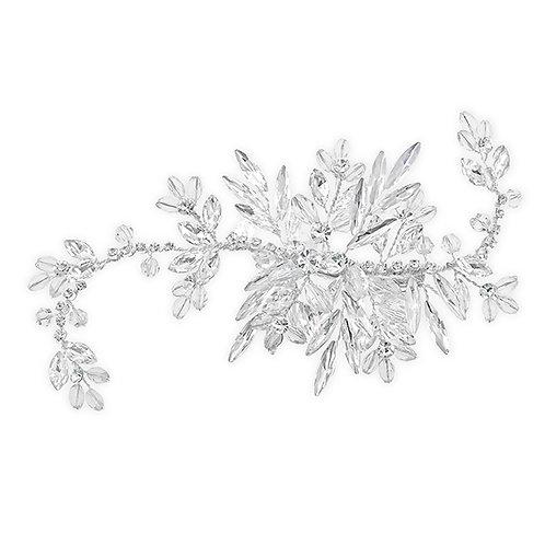 Bridal Silver Hair Clip 131850
