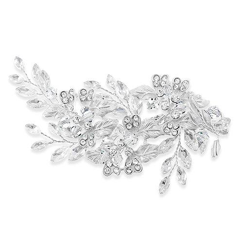 Bridal Silver Hair Clip 131864