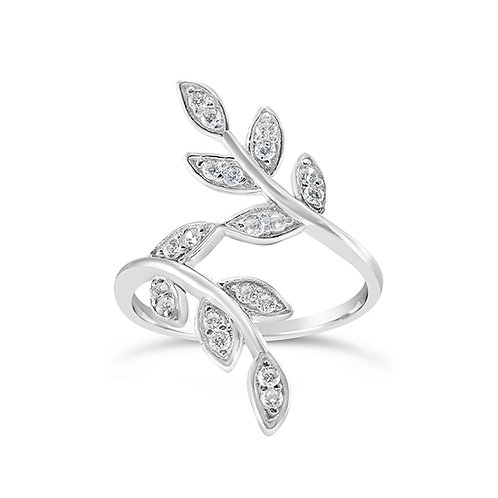Sterling Silver Cubic Zirconia Ring 131909
