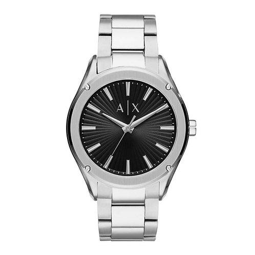 Armani Exchange Fitz Silver Black Dial 140055