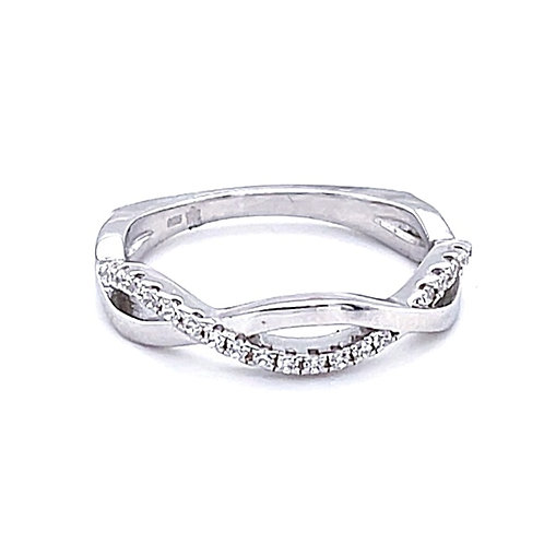 Sterling Silver Cubic Zirconia Ring 122856