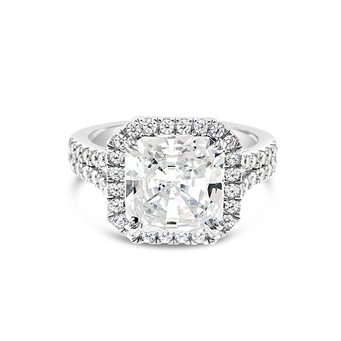 Sterling Silver Cubic Zirconia Ring 123789
