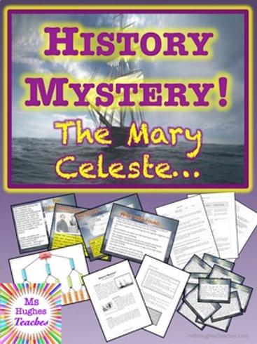 The Mary Celeste. HISTORY MYSTERY