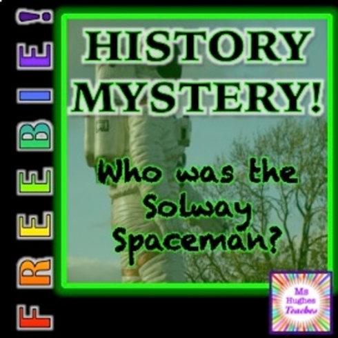 FREEBIE! The Solway Spaceman HISTORY MYSTERY