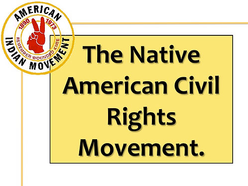 The Native American Civil Rights Campaign