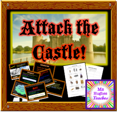 Attack the Castle! Medieval Conquest Lesson