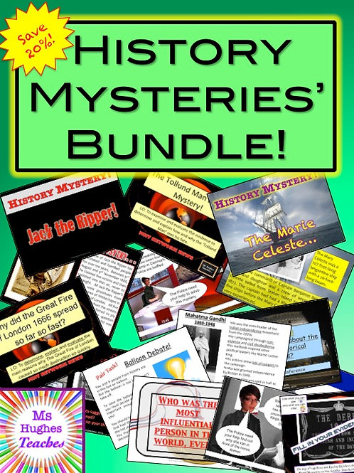 HISTORY MYSTERIES BUNDLE