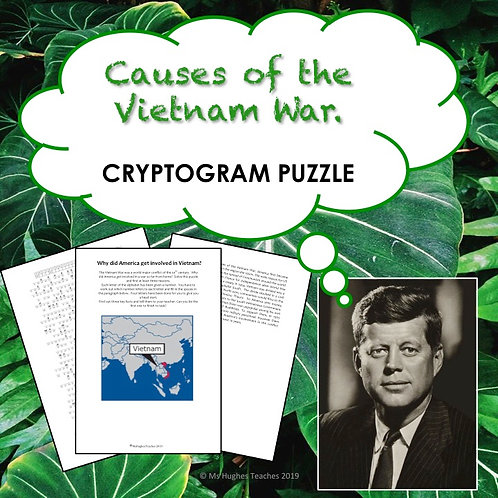 What were the causes of the Vietnam War