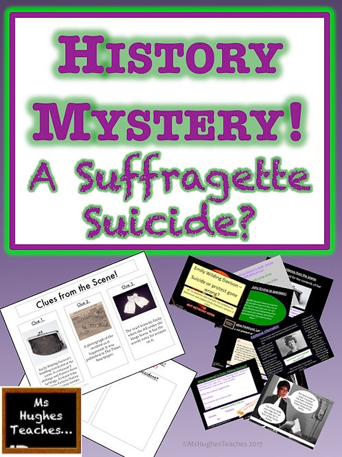 Emily Wilding Davison - A Suffragette Suicide? HISTORY MYSTERY