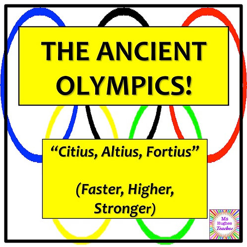 The Ancient Greek Olympics Lesson