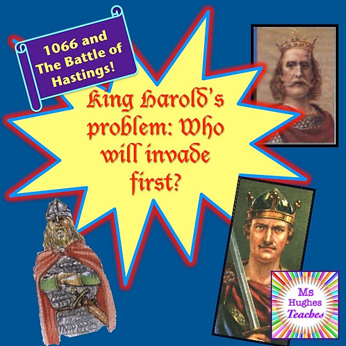 King Harold's Problem -Who will arrive first in 1066? (Before Battle of Hastings