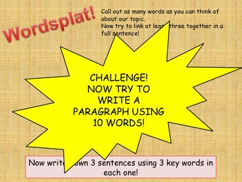 Revise in 5! - Wordsplat!