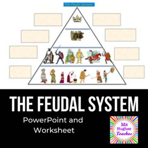 The Feudal System - PowerPoint and Graphic Organiser