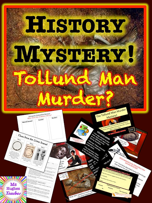 Tollund Man Murder Mystery - Investigation through inference lesson