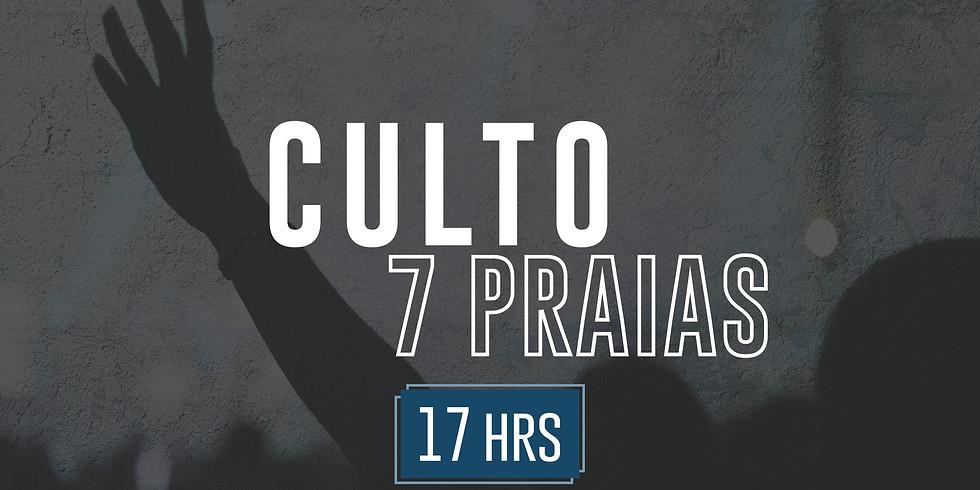 7 PRAIAS (culto presencial) 09/Agosto 17:00