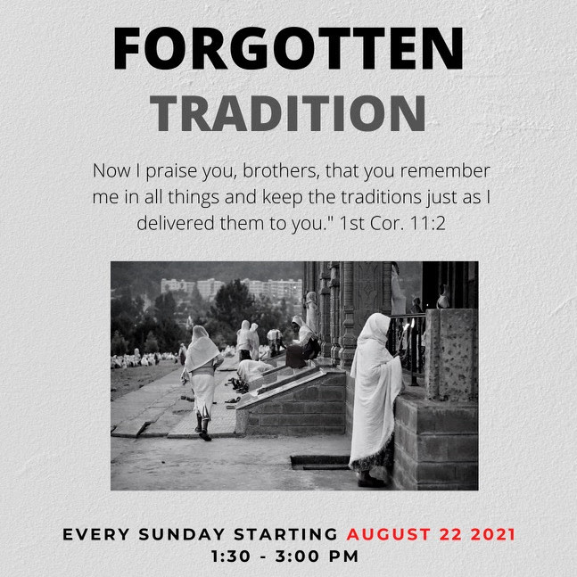 Forgotten Tradition