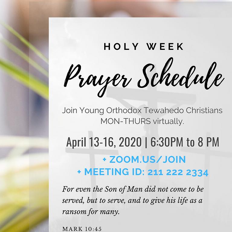 Holy Week Prayer