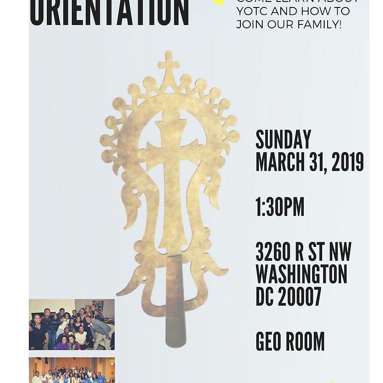 YOTC Orientation!