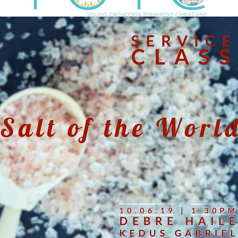 Service Class: Salt of the world
