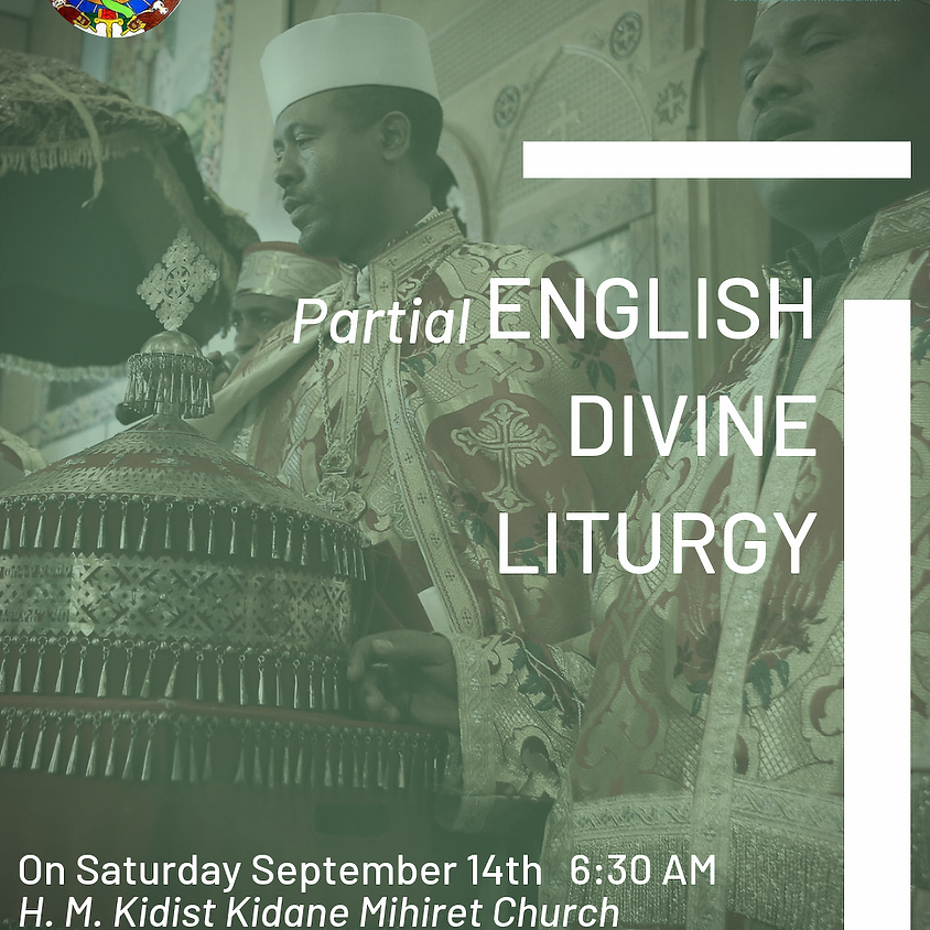 Partial English Liturgy Service