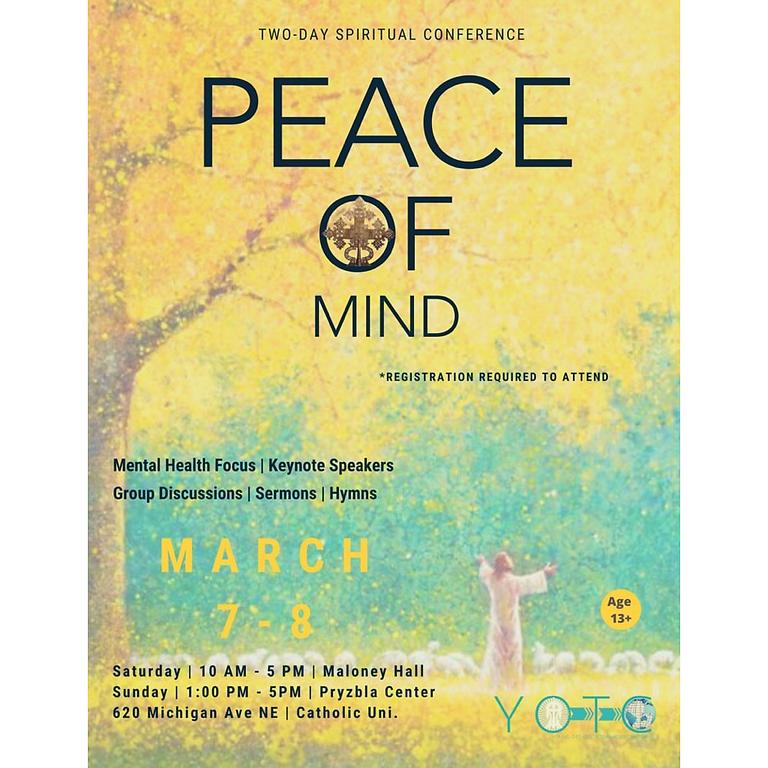 English Service: Peace of Mind