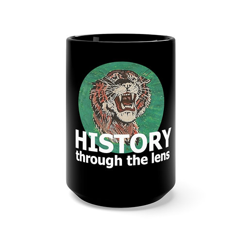 History Through The Lens Black Mug 15oz
