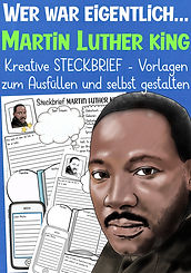 Martin Luther King Steckbrief Deutschunt