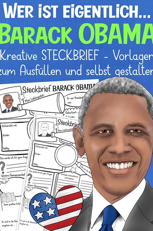 Barack Obama Steckbrief