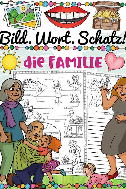 Familie Bildwörterbuch für die Grundschule Englisch, Französisch, Spanisch