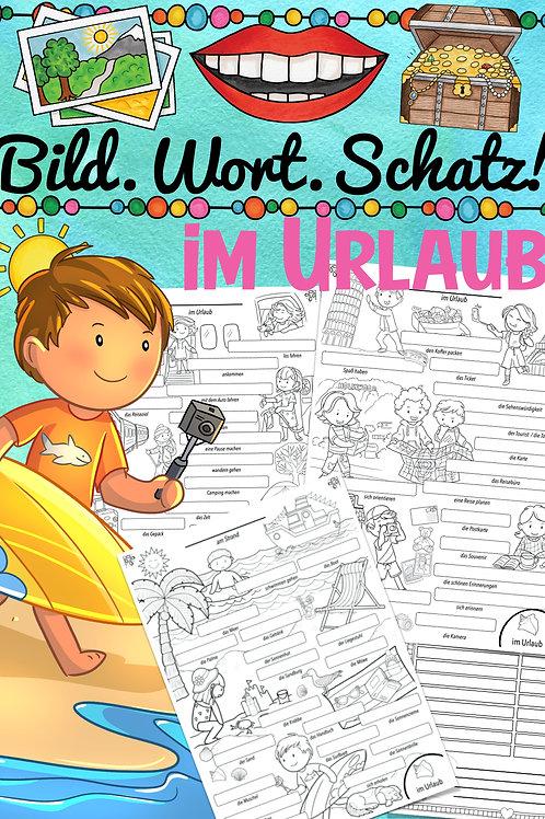 Bildwörterbuch für alle Fremdsprachen in der Grundschule - Reisen