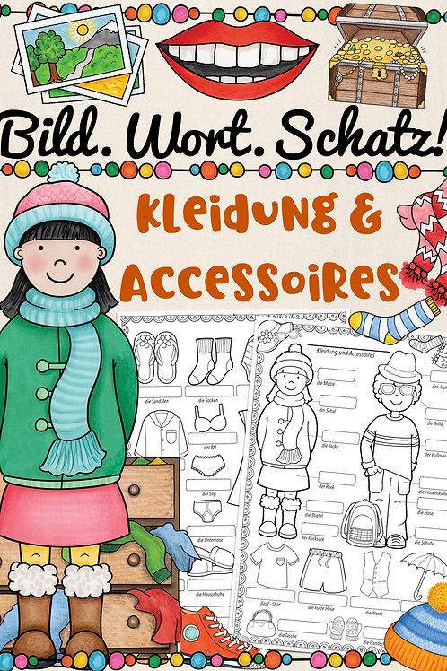 Bildwörterbuch für alle Fremdsprachen - Kleidung / Kleidunggstücke