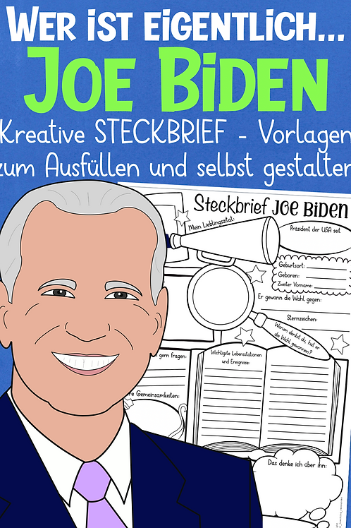 Joe Biden Steckbrief