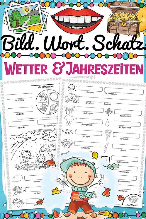 Bildwörterbuch für die Grundschule Englisch - das Wetter