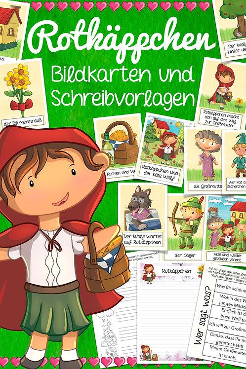 Bildkarten Märchen in der Grundschule - Rotkäppchen