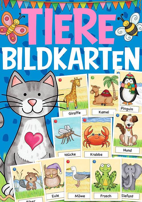 Bildkarten Grundschule Deutsch / DAZ. Tiere / Haustiere