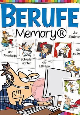 Memory - Berufe Deutsch für die Grundsch