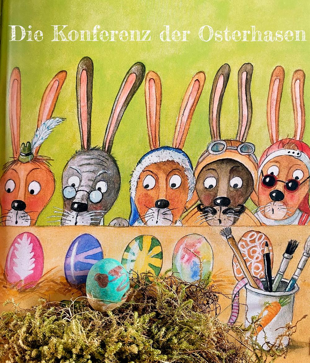 Die Konferenz der Osterhasen Kinderbuch zu Ostern Ostergeschenk