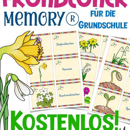 Frühblüher - Wortschatzkärtchen / Memory®
