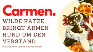 Hysterische Katze und fieser Hund - Carmen für Kinder