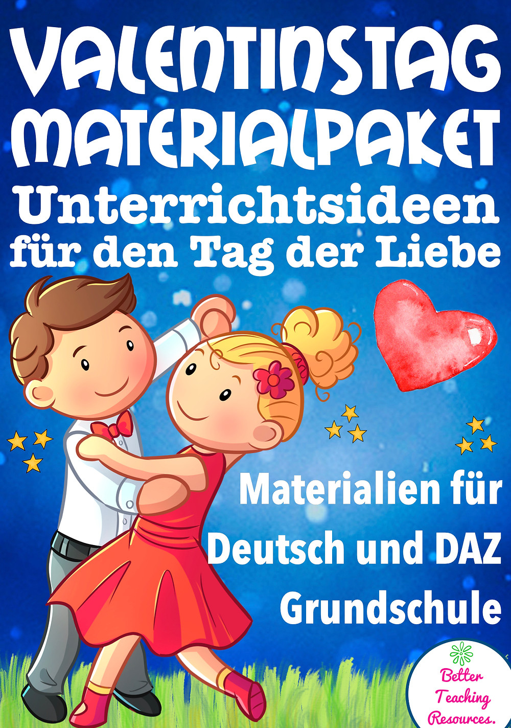 Valentinstag Materialpaket bei eduki