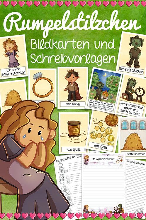 Bildkarten Märchen - Rumpelstilzchen für die Grundschule und Kita