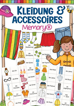 Memory® - Kleidungsstücke