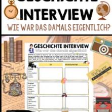 Geschichte Interview kostenloses Unterri