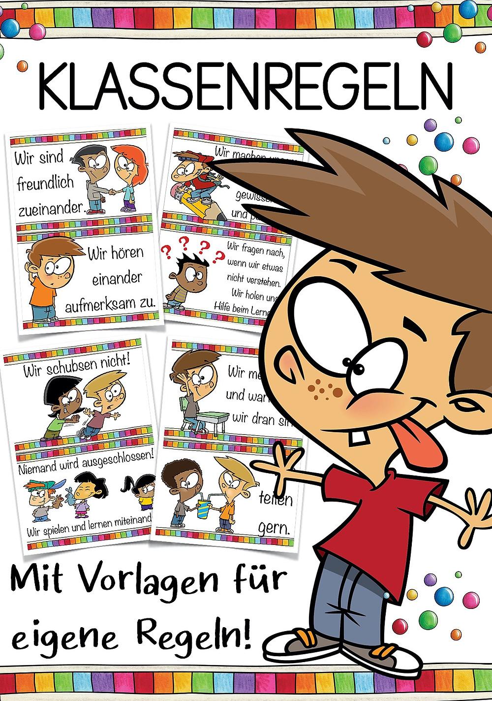 Klassenregeln - Kostenlos Download für die Grundschule