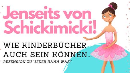 Jenseits von Schickimicki und Schema F!