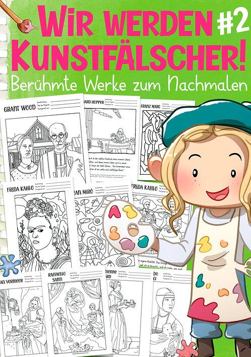 Kunst nachmalen - Kunstunterricht in der Grundschule Unterrichtsmaterial
