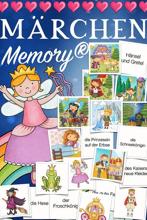 Memory zum Thema Märchen in der Grundschule (Deutsch / DAZ für Kinder)