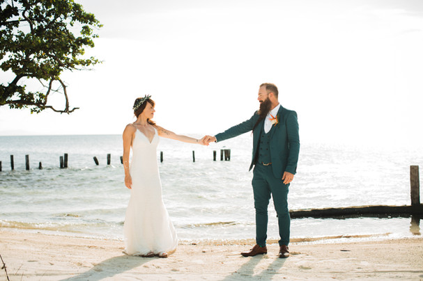 Hatchet Caye Wedding Belize