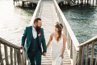 Hatchet Caye Belize Wedding